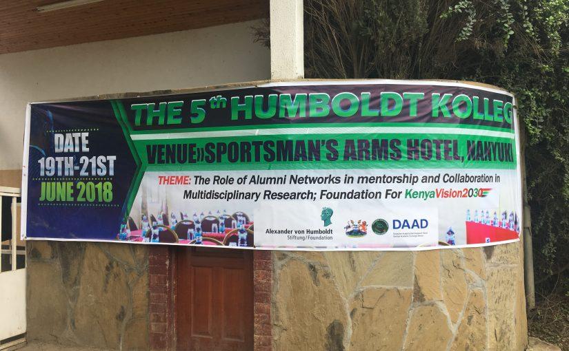 BAOFOOD @ the 5th Humboldt Kolleg, Kenya