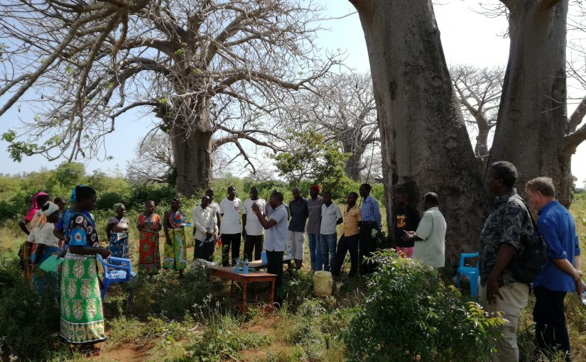Farmer trainings conducted in Kilifi, Kenya